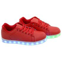 Tenis LED Gati TXL-19 No 32 - Vermelho