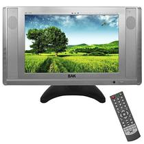 "Tela de 11"" BAK BK-TFT-1110TV com Funcao de TV/VGA/A.V - Prata"