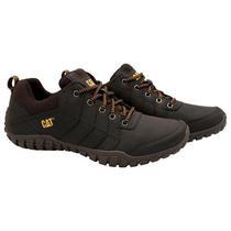 Sapato Caterpillar Instruct P722310 Masculino N 9.5 - Marrom