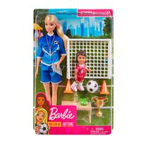 Muneca Mattel Barbie Entrenadora de Futbol