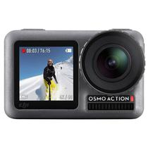 "Camera de Acao Dji Osmo Action 2.25"" Touch 4K Cinza"