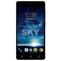 Smartphone SKY Fuego 5.0+ Dual Sim 4GB Tela 5 5MP/2MP Android 6.0 - Branco