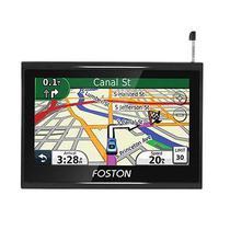 GPS Foston FS-790GT - Av - TV Digital - Camera de Re - 7 Polegadas