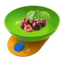 Balanca Digital para Cozinha Ecopower EP-3023 para Ate 5 KG - Amarela