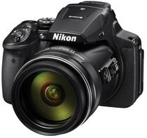 Câmera Digital Nikon Coolpix P900 16,0MP DSLR Zoom 83X Lente 2.000 MM Wi-Fi +NFC