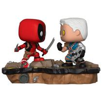 Boneco Funko Pop Marvel Comic Moments - Deadpool VS Cable 318