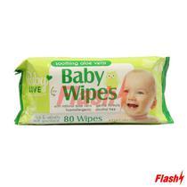 Lenco Humedo p/ Bebe Personal Care de Aloe Vera 80UN