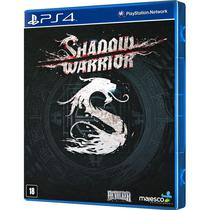 Jogo Shadow Warrior PS4