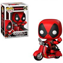 Boneco Funko Pop Rides Deadpool - Deadpool On Scooter