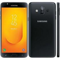 Samsung Cel J7 Duos 2017 J720M (Dual Sim/32GB/Black)