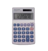 Calculadora Sharp EL-240SAB - Cinza/Azul