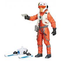 Boneco Hasbro Star Wars X-Wing Pilot Asty B4167 10CM