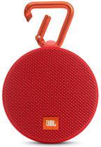 Caixa de Som JBL Clip 2 Bluetooth A Prova D'Agua Vermelho