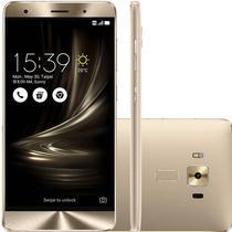 "Smartphone Asus Zenfone 3 Deluxe ZS550KL 64GB Lte Dual Sim 5.5""Cam.16MP+8MP-Dourado"