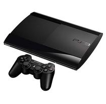 Console Sony Playstation 3 Super Slim 500GB com 70-Jogos Recondicionado