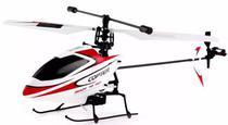 Helicoptero Wltoys Micro Series V911 4 Canais Controle Remoto 2.4GHZ-Vermelho
