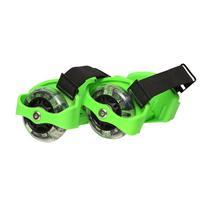 Patins Adaptado com Rodas de LED Verde