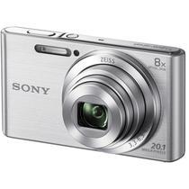 Câmera Digital Sony DSC-W830 Prata