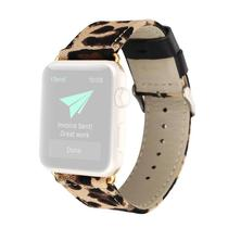 Pulseira 4LIFE Leather Leopard Apple Watch 42MM