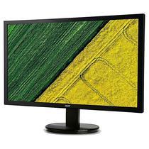 "Monitor LED de 21.5"" Acer K222HQL Full HD com HDMI/VGA/DVI Bivolt - Preto"
