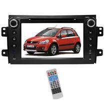 Central Multimidia para Suzuki SX4/S100 Aikon C124D/100 180W LCD - Preto