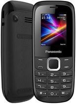 """Celular Panasonic GD18 Dual Sim com Tela de 1.8"""" Camera e Radio FM - Preto"""