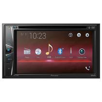 Reprodutor DVD Automotivo Pioneer AVH-G215BT Tela de 6.2 com Bluetooth/Mini Jack 3.5MM/Rca - Preto