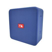 Speaker Portatil Nakamichi Cube Box Bluetooth Azul