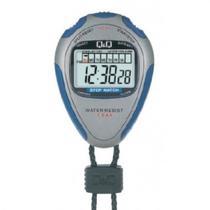 Cronometro Q&Q HS46J002Y Silver Blue