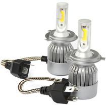 Lampada C6 LED Headling H4 para Automovel 36W/3000LM - Prateado