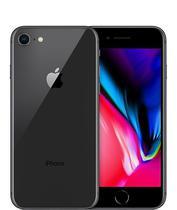 Celular Apple iPhone 8 - Tela de 4.7 - Cam 12/7MP - 64GB - (BZ) - Prata e Branco - Kit
