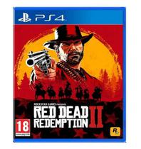 Jogo Red Dead Redemption II PS4