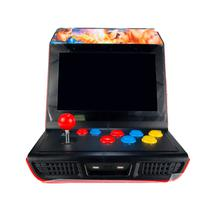 Console Retro Arcade Super Game Station NJ-3000 / 12 Polegadas - Preto