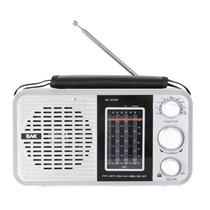 Radio BAK BK-811BT SD/USB Prateado 220V