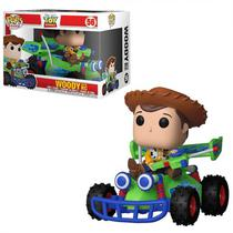 Boneco Funko Pop - Toy Story Rides - Woody With Race Car 56