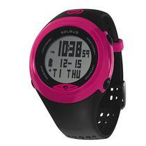 Relogio GPS Monitor Cardiaco Soleus SG007-011 HRM - BLK/Pink