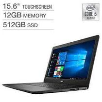 """Notebook Dell I3593-5544BLK-Pus i5-1031G1 1.0GHZ/ 12GB/ 512GB SSD/ 15.6""""FHD/ Touch/ Windows 10/ Ingles Preto"""