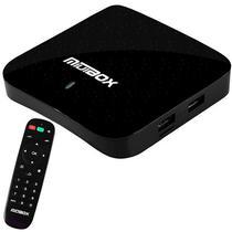Receptor Miuibox Space 4K / Iptv / HDMI / USB / Bivolt - Preto