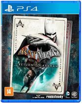 PS4 Jogo Batman Return To Arkham