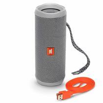 Caixa de Som JBL Flip 4 Bluetooth Cinza