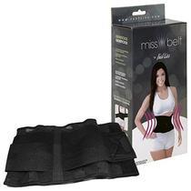 Cinta Modeladora Fast Liss Miss Belt (M) - Preta