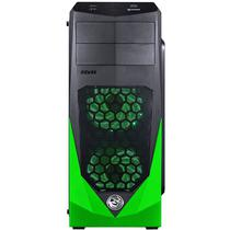 Gabinete Pcyes Vti Gaming LED Green 3 Fan