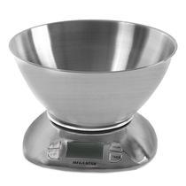 Balanca Digital para Cozinha Megastar BC-5 para Ate 5.5 KG - Prata