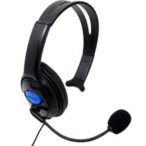 Headset com Fio Play Game PS4