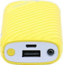 Carregadores Roadstar RS-12PB Nano 5200MAH - Amarelo