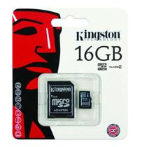 Cartao de Memoria Kingston Micro SDHC 16GB Classe 4