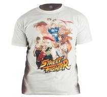 Camiseta s. Nintendo Street Fighter Branco 9468