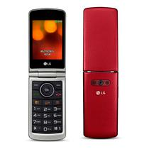 Celular LG G360 (Flip ) - Vermelho