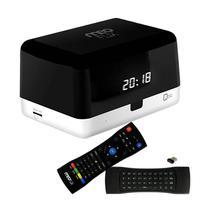 Receptor Fta Meoflix Qbic 4K Ultra HD/ Wi-Fi/ Bluetooth/ HDMI/ USB