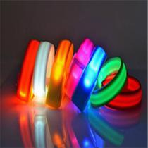 Pulseira LED Slap Band Bseen Azul